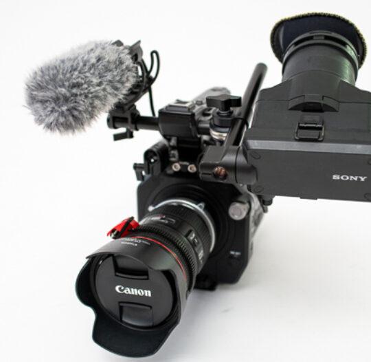 Sony FS7 mit 24-105 Optik